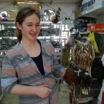 got to hold a falcon